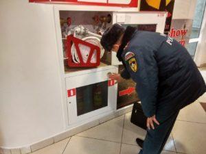 30% ТЦ не устранили нарушения требований пожарной безопасности